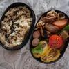 お弁当箱のおかずとごはんの割合を変えてみた糖質よりタンパク質!