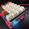 キースイッチをホットスワップできて、ProMicroも交換できて、RGB-UnderGlowがついてるLet's split を組み立てた話