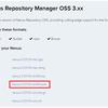 共有ライブラリを管理するために Sonatype の Nexus Repository Manager OSS を使用する ( その11 )( Nexus を 3.0.0-03 → 3.0.1-01 へバージョンアップする )