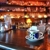 四谷三丁目の「月曜喫茶」でバナナケーキ、マンデリン。