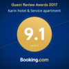 Boking.com Guest Review Awards 2017とKARINイベント