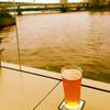 隅田川沿いでクラフトビール@Mile Post Cafe