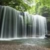 熊本小国町 鍋ヶ滝ライトアップ