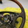 自動車内装修理#179 トヨタ/ランドクルーザー100 ウッドコンビハンドル擦れ