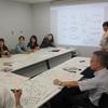 京都精華大学の先生方にVISUAL PRACTICE(特にグラフィックファシリテーション)研修を実施