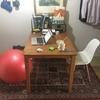 【写真あり】10ヶ月間、バランスボールを椅子の代わりに毎日使ってみた感想