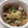 コンビニランチ セブンのお気に入りもち麦の生姜スープ