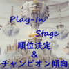 Worlds2019 Play-In Stage 順位&チャンピオン傾向