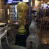 ワールドカップが終わった、飲みに行った