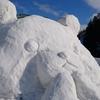 十日町雪祭りフィナーレはさよなら雪像
