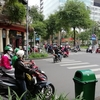 増え続ける交通量!ホーチミンのバイク事情