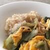 山東菜と卵の炒めもの 豆豉風味