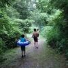 夏休みキャンプ❗~篠沢大滝キャンプ場その2