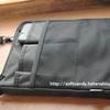 バックパックのインナーバッグにいいかも!リヒトラブ 「バッグインバッグ スマートフィット アクタクト A4タテ」  A7683-24 を購入しました。