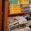 本棚の整頓をした