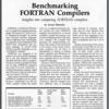 1984年 BYTE 誌 FORTRAN コンパイラ ベンチマーキング