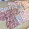 コットンドビー生地で作った「桜のひとえ着物」の思い出