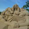 砂像は実物を見た方が感動する!@吹上浜砂の祭典(南さつま市)