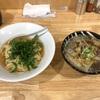 590. 牛清湯つけそば@中華そばYouLee(北綾瀬):牛テールの上質なスープと大根の相性が最高な温かいつけそば!