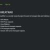 ThreatWar:ハニーポットなどの検知状況がリアルタイムに更新されていて検体DLもできるサイト