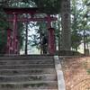 山里の神社に初詣、わがままなお願いをたくさんしてきました。(笑)