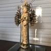 イスム(イSム)の千手観音立像と風神・雷神像