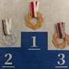 水引結びで五輪マークとメダルを作ってみました!