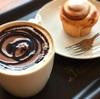 チョコフラペチーノは売り切れで、チョコレートムースのラテとマスク警察