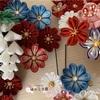 つまみ細工  成人式  ❁  花盛りの髪飾り