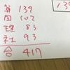 サピックス5年11月マンスリーテスト〜自己採点結果公開〜