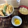 神奈川区山内 中央卸売市場の「食堂浜膳」で天丼