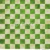 市松模様 背景素材 緑色