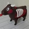 和牛商品券だとかお魚券だとか言っていたので、牛を一頭買いしました。まさにシュールな牛の焼肉パズルです。