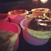 【580】181124☆チーズケーキが溢れた😅