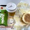 朝マック チキンクリスプマフィンコンビ200円 ホットアップルパイ100円