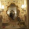 洗面台と壁紙♪ディズニーランドホテル♪コンシェルジュ ディズニーシンデレラルーム♪