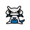 ラティオス(ポケモン)の色のぷちゴン|ぷちゴン