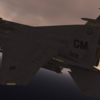 【Milviz】F-15E用 ACECOMBAT6 ガルーダ1塗装