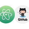 Atomエディタに新しく結合された Git / GitHub を使ってみた