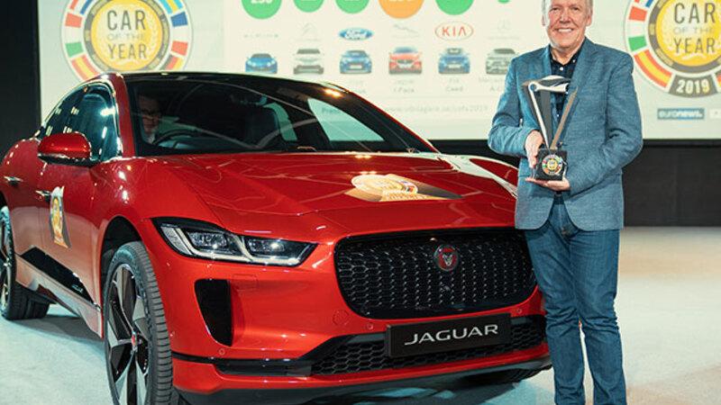 ジャガー初の電動SUVモデルI-ペイスが、ヨーロッパ・カー・オブ・ザ・イヤーを受賞