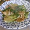 幸運な病のレシピ( 685 ) 朝:味噌汁、サバ西京漬け、青梗菜豚バラ炒め