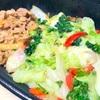 すき家の「ケールレタス牛丼」を食べました【塩ダレであったか野菜が食べられる】