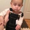 乳児期回想記④② 9m16d  食べたら自分で椅子を片付けます。