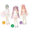 【ピュアニーモ】PNS『Sugar Dream PNSお砂糖リボンフリルスカートII』1/6 ドール服【アゾン】より2020年6月発売予定♪