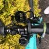 sprint女子さんのバイクをいくつか微修正(サイコンの保護テープ追加とお薦めショートサドル交換など)