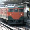 この1枚から 2004年の沼津駅にて・JR東海の113系と115系【2】