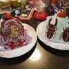 チョコペンで節約キャラクターチョコプレートケーキ!