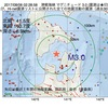 2017年08月06日 02時28分 津軽海峡でM3.0の地震
