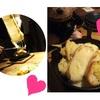 ラクレットチーズ&シフォンケーキパフェ(≧∇≦)府中 アンシャルムカフェさんに行ってきました〜☆*:.。. o(≧▽≦)o .。.:*☆