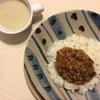 パンと料理 ~ レンズ豆のドライカレーとサツマイモのスープ